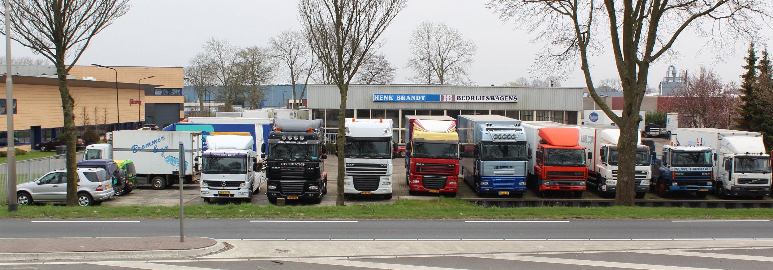 Henk Brandt Trucks Heerhugowaard